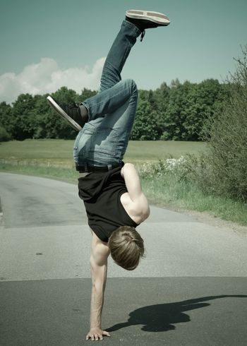 Handstand  Sport (Edit: Lightroom)