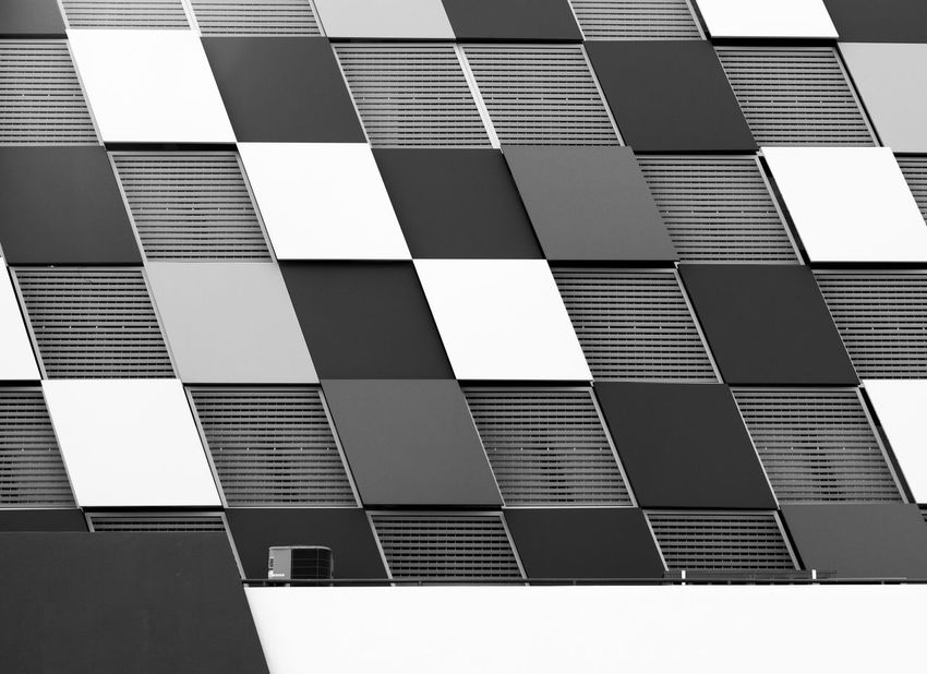 Architecture_collection Architecture Architecture Building Exterior Architecture Facade Architecture_bw Architecturelovers Black And White Photography Blackandwhite Bnw Architecture Bnw_captures Bnwphotography Building Building Exterior Building Feature Built Structure Day Full Frame Low Angle View Modern No People Outdoors