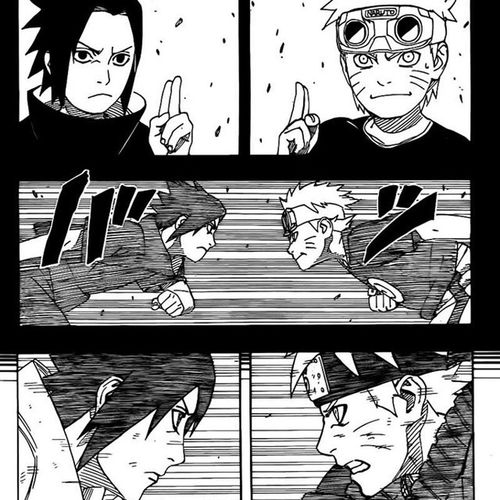 From Child Until Man Sazuke Naruto 394 Ending