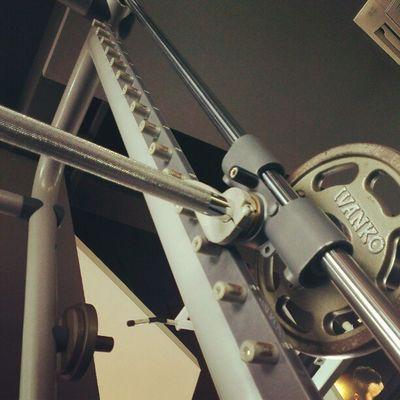 Lying down looking at Ironbars Gym Fitness AsweatAday