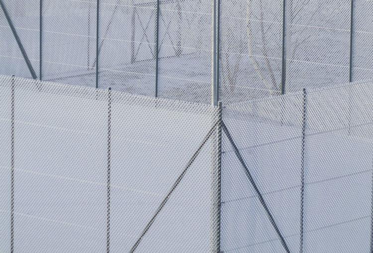 Full Frame Shot Of Fences