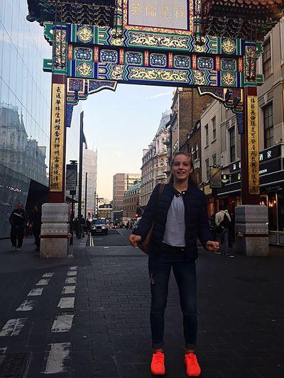Ching chang chong in China Town London