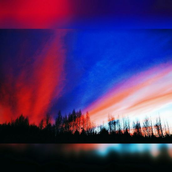 Red Sky No People Sunset Multi Colored Nature Day Dramatic Sky Night Beauty In Nature Nature Red Cloud - Sky Polotsk PolotskCity Novopolotsk