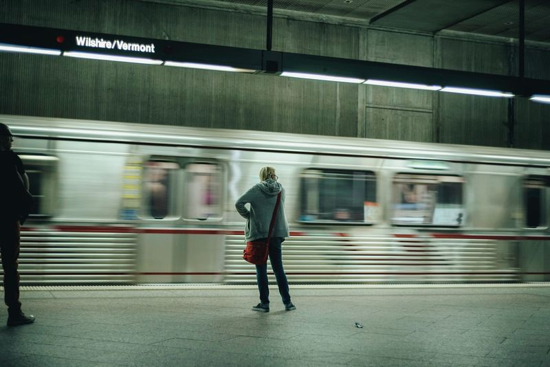 Blurred Motion Real People On The Move Motion Speed People Adult Subway Train EyeEm Best Shots Cinematic Photography Streetphotography Streetphoto_color Film Noir Cinematic Look Cinematic Street Street Photography EyeEmBestPics Life In Colors WeekOnEyeEm Urban Perspectives Los Angeles, California StillLife Peoplephotography ScenesFromTheStreet The Street Photographer - 2017 EyeEm Awards