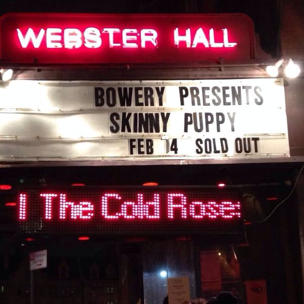 Skinny Puppy Webster Hall New York City New York