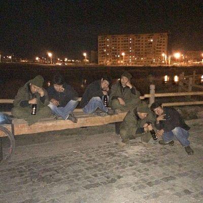 что то нас много койоты вино Veloykt Velo_ykt starkbikes stark ykt yakutsk yakutia night ride