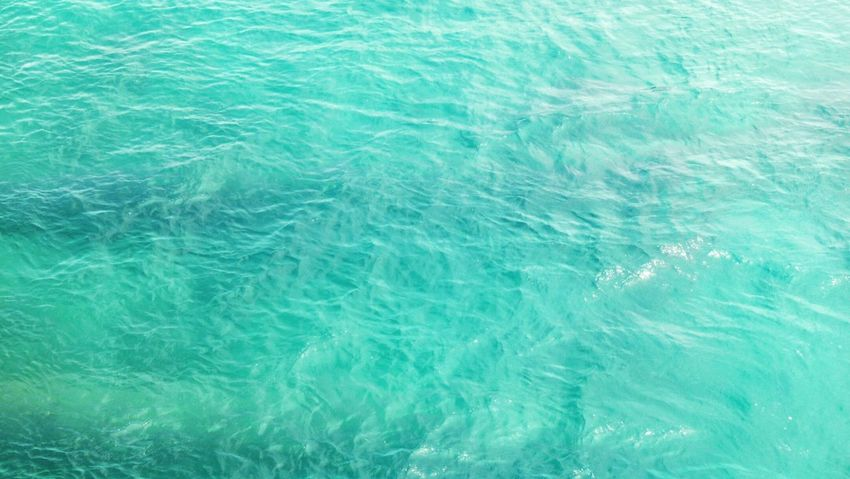 Blue Water Nature Sea Beauty In Nature Cian Turquoise Cancun Cancun☀ CancunMexico🌙 Cancun, Mexico Tranquility Tranquil Scene Landscape