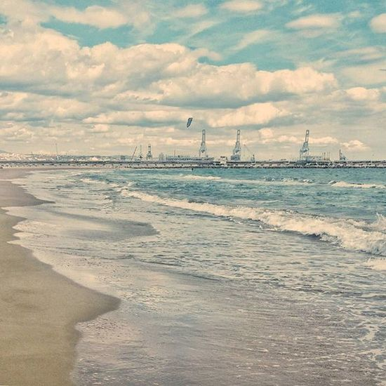 ☁⛵Lapineda LaPinedaPlatja Muelle Boats Cloud Landscape Beach Sea Mar Photography Original Me Retouched Cataluña Tarragona Pic Cool Yeah OnTop Top Wonderful Amazing Photo Tarragona Yeah sky likes like4like waves olas liking relax