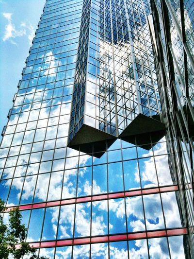 """""""Simplicity is that grace which frees the soul from all unnecessary reflections upon itself."""" -Francois Fenelon Reflection Building Cloud_collection  EyeEm Best Shots"""