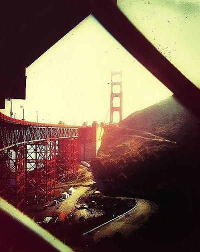 Golden Gate Bridge In San Francisco In the USA Snapseed