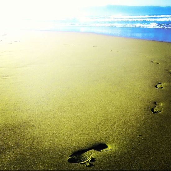 Footstep Always Moving Forward
