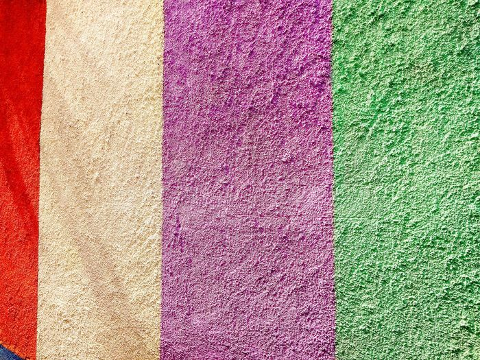 colour full wall of the texture art Wall Full Frame Backgrounds Multi Colored Textured  Pattern Close-up
