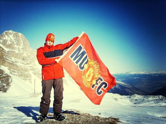 Ski Holiday. Keep The Red Flag Flying High!
