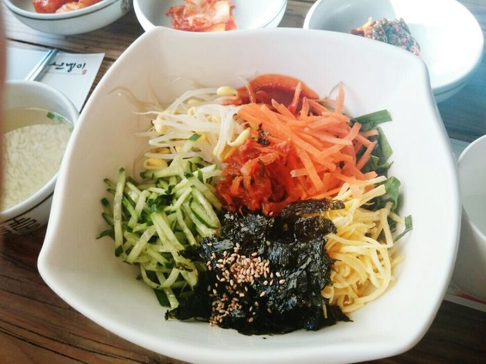 Bibimbab Korea Food Jeonju