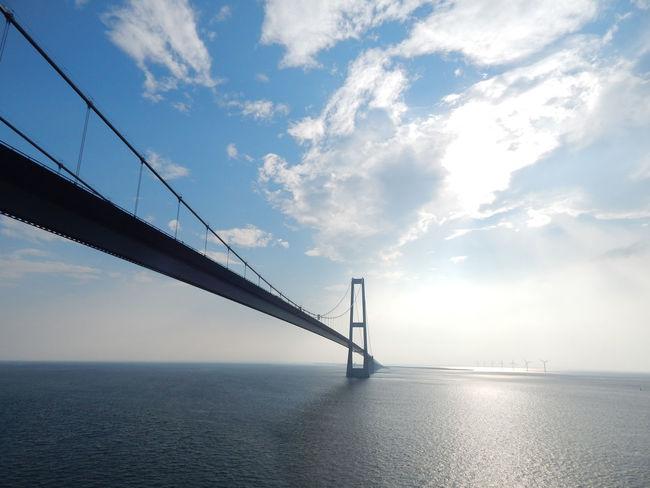 Colerline Die Großen Belt Brücke Funen Seeland Storebælt Storebælt Bridge Storebæltsbroen Storebæltsforbindelsen The Great Belt Bridge First Eyeem Photo