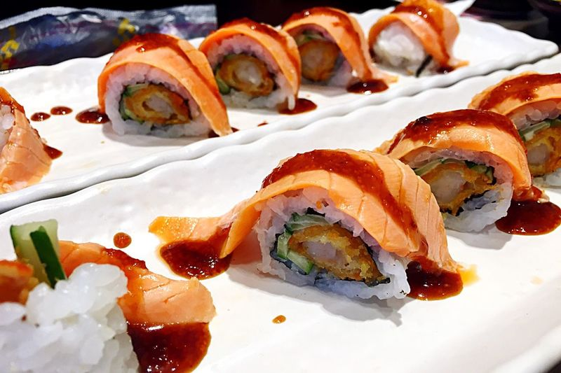 What's For Dinner? Sushi looks yumm.