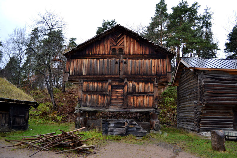 Architecture Building Exterior Built Structure House Hut Norweigian Old Buildings Outdoors Weathered Wood