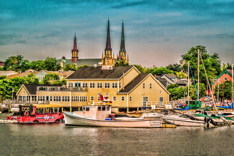 Architecture Boat Boats⛵️ Building Exterior City Cityscape Day Nautical Vessel No People Outdoors Sky Travel Destinations