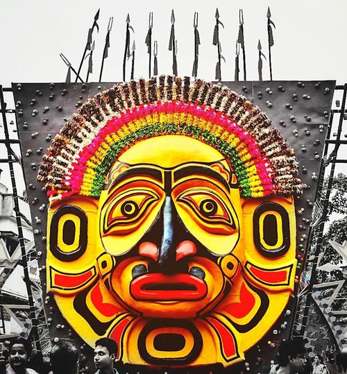 Paint The Town Yellow Durgapuja Pandal Festival