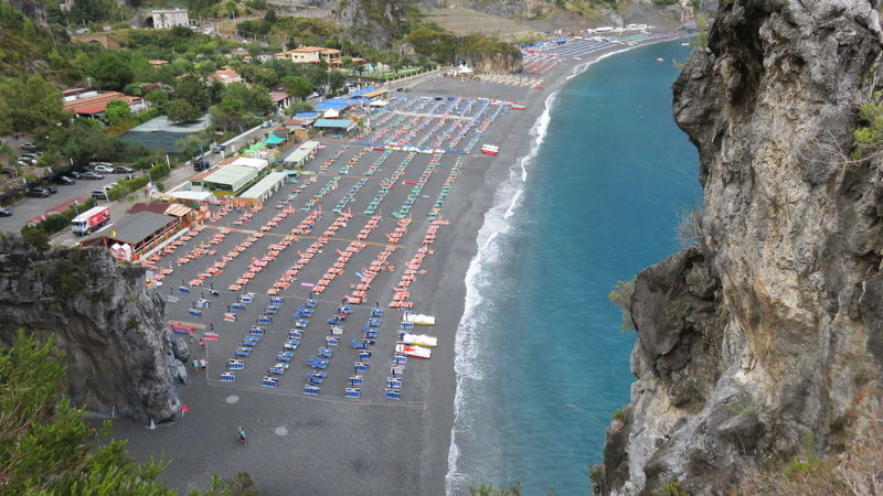 beach Arcomagno, calabria Arcomagno Beautiful Nature Beauty In Nature Calabria (Italy) Holidays Rock Sea Summer Tourist Attraction  Tourquise Sea Travel Destinations Umbrellas Water