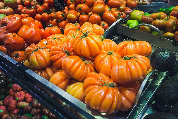 Orange bell pepper for sale