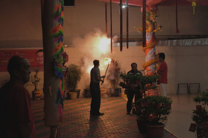 Celebration Chinese New Year Imlek2017 Chinese Temple Gong Xi Fa Cai Night Celebration EyeEmNewHere