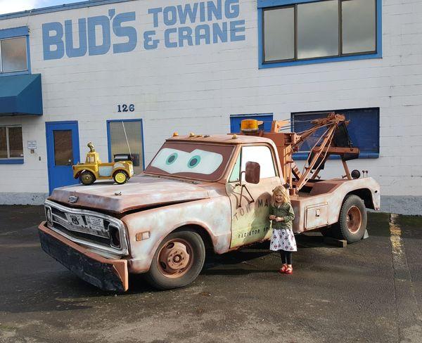 Tow mater Land Vehicle Transportation Car Day Outdoors No People cartoons