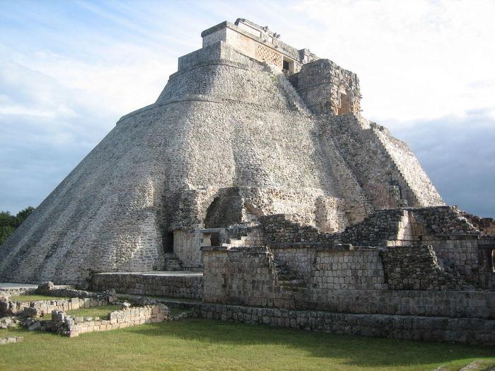Chichen Itza Pyramid Against Sky
