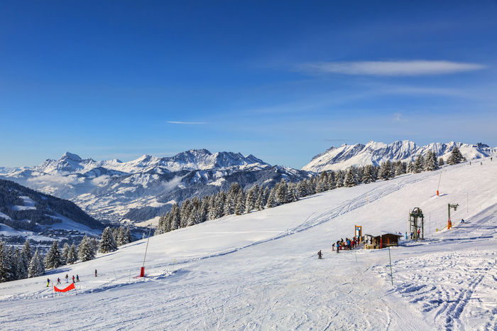 Ski slope in Alps. Winter Wintertime Adventure Beauty In Nature Cold Temperature Day Landscape Leisure Activity Mountain Nature Outdoors Scenics Season  Seasonal Snow Snowcapped Mountain Vacations Winter Winter Holiday Winter_collection