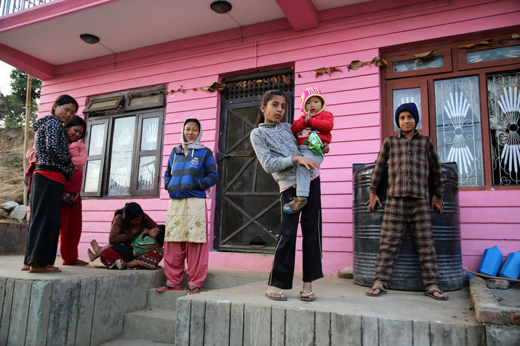 Nepalese Nepal Travel Nepal Bandipur People Photography People In Front Of Their House Nepalese Family nepalese Nepali  Nepalese Beauty Nepalipeople😊 Nepalese Culture