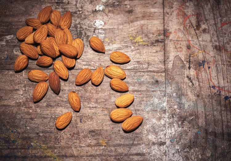 Almonds Healthy Fats Lipids Wood - Material No People Large Group Of Objects Food And Drink Close-up Healthy Eating Seed Food Freshness Nature Indoors  Fitness StillLife