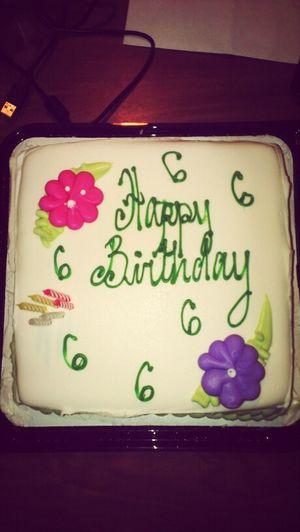 Her B'day Cake