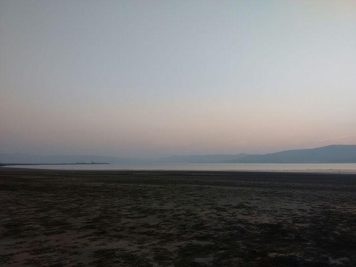 Sand & Sea Beach Walk Beach Sunset Orange Sky Peace And Quiet Seascape Sea And Sky Nature Murudjanjeera