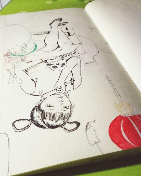 Day Drawing Portrait 户川纯