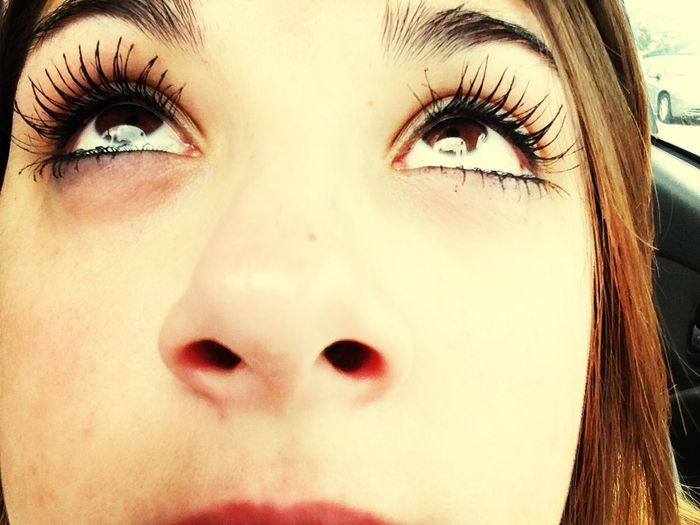 I Have Some Long Eye Lashes Lol
