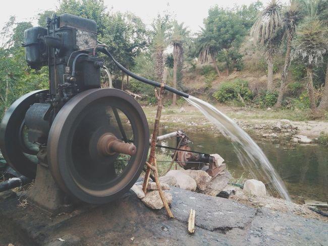 India Rural RuralIndia Rajasthan Water Waterflow Farmland Agriculture Watergenerator Myyearmyview took the road less travelled