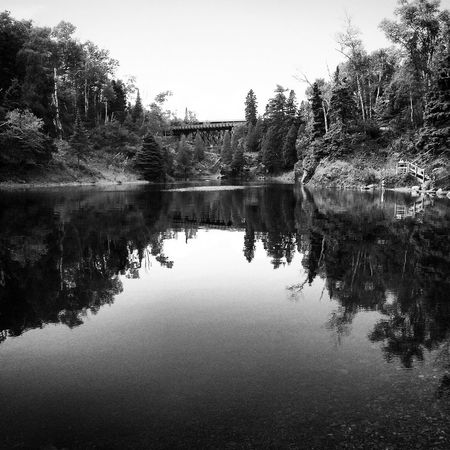 Complete solitude in Northern Minnesota! Travel IPhoneography Reflection Escaping