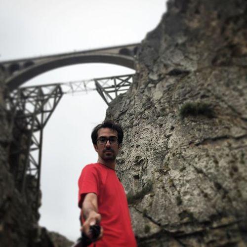 Veresk Bridge Railway Old Made By  Engineer Red Today Me