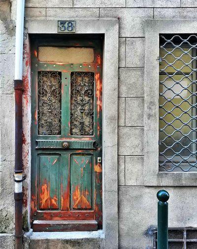 Doorporn France 38 Number Numbers Streetphotography Street Window Safety Closed Door Entry Door Handle Entrance