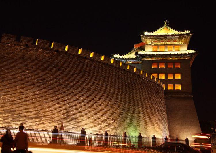 night of Deshengmen 德胜门,夜晚