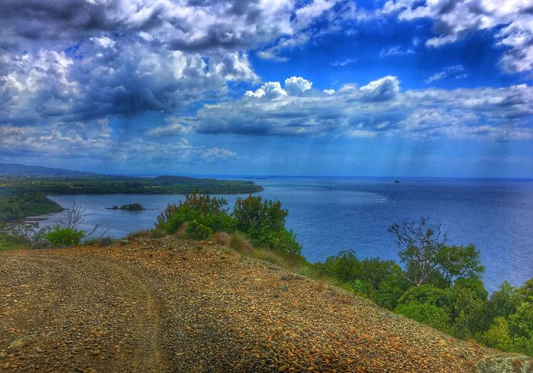 Napsan Berong Circumfirencial Road Palawan Philippines Palawanbeach  Quezonpalawan Overlookingview Sea