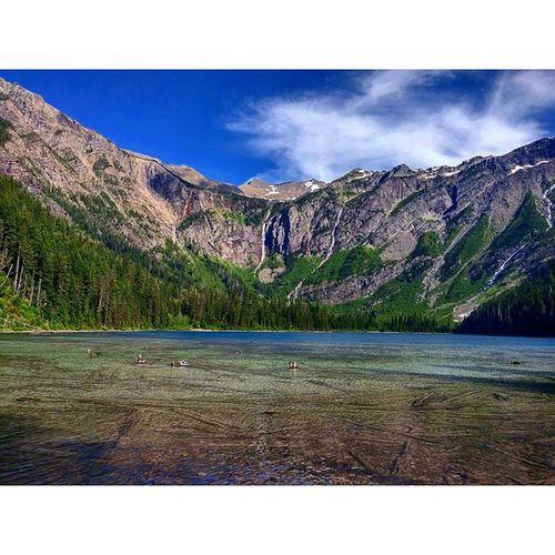 Avalanche Lake, Glacier National Park Glaciernps @glaciernps Glacier Nationalpark Hiking Lake Glacial Glaciallake Snowmelt Nps Travel Landscape Scenic Golivexplore