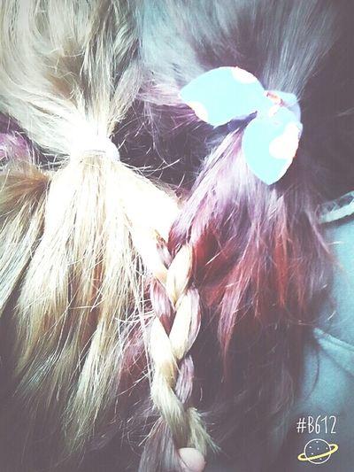 BFF😍😘😝 Redie And Blondie 😇😈😃😊😻