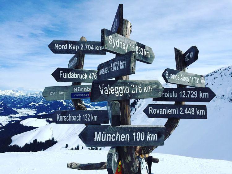 Kaiserwetter..... Tirol  Berge Schnee Tyrol-Austria Snowboarding Wetter Aussicht St. Johann