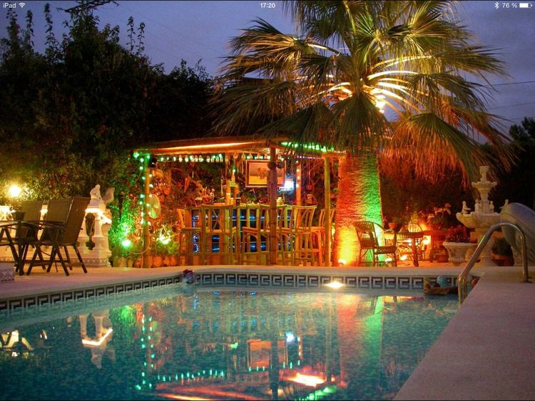 our bar kivulii baa in the garden Check This Out My Bar Home Sweet Home SPAIN