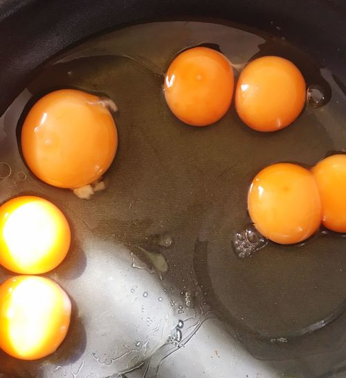 Cracked 4 eggs and 3 of them were double yolks ☺ Egg Yolk Healthy Eating Double Yolk 3 Double Yolk Eggs Food Raw Food Yellow Ingredient Eating Raw Eggs Raw Yellow Color Cooking Cooking At Home Twin Egg Triplets Healthy Food Twins Double