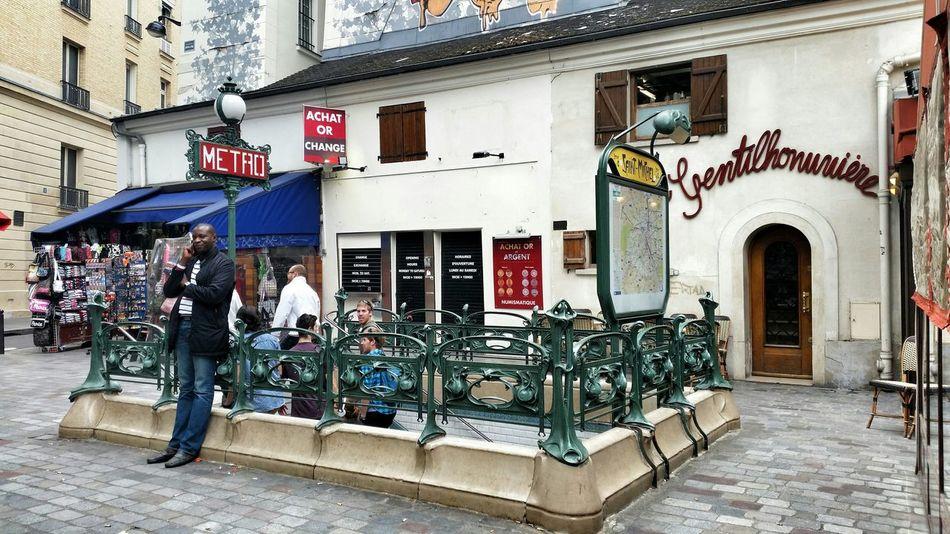 Paris Metro Metro Station St Michel St Germain