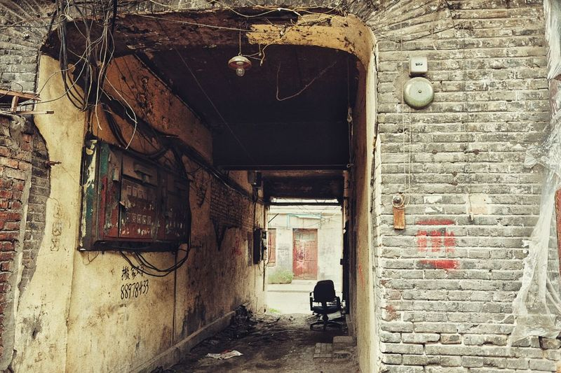 哈尔滨道外北二道街11 Street Photography Street Documentary Photography Documentary Old Buildings Buildings Harbin China 哈尔滨