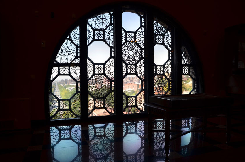 Armenia Eriwan Jerevan Jerewan Matenadara Architecture Built Structure Close-up Day Indoors  Indoors  No People Place Of Worship View Out Of The Window W-armenien Window