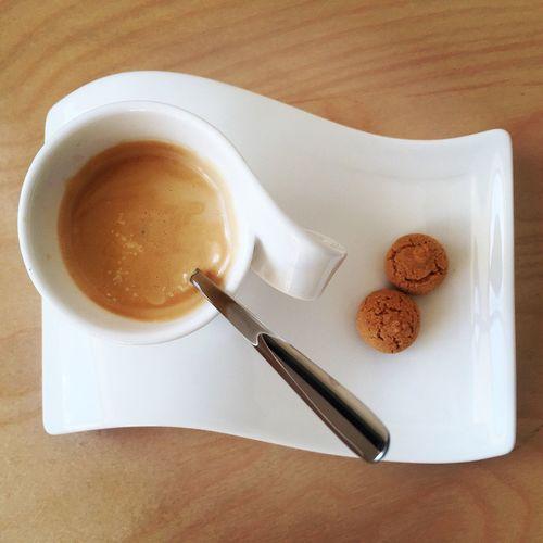 Coffee Coffee Time Coffee Break Espresso Black Amarettini White Porcelain Coffee At Home Espresso Break A Bird's Eye View